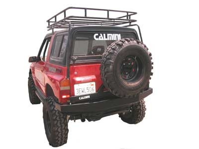 Picture of Rear Swing Away Tire Carrier and Accessories