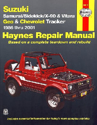 Picture of Haynes Repair Manual - Samurai/Sidekick