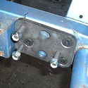 Picture of No-Drill Power Steering Gear Box Bracket