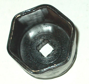"""Picture of 2"""" Spindle Nut Socket"""