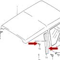Picture of Targa Side Rail Kit