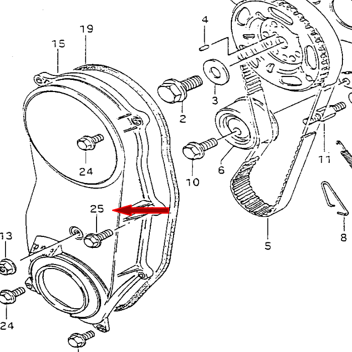 Picture of Timing Covers for Suzuki Motors