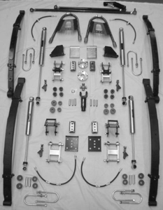 """Picture of """"Epic Trek"""" SPOA Suspension Kit for Samurai"""