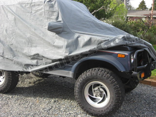 Picture of 4 Layer Weatherproof Car Cover for Samurai