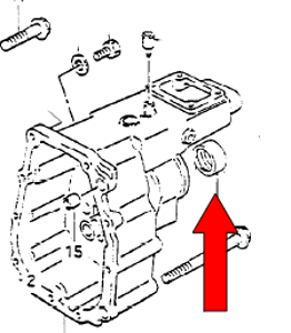 Picture of Samurai Transmission Rear Output Seal