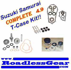 Picture of Samurai Transfer Case Combo Kit - 4.9 Ratio