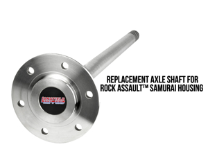 Picture of Longfield Rear Axle,Chromo,Sami Long (Toyota Style Axle)