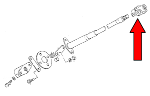 Picture of Steering U-Joint, Samurai