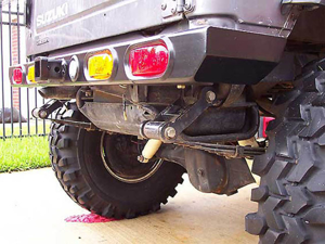 Shrockworks rear bumper for suzuki samurai